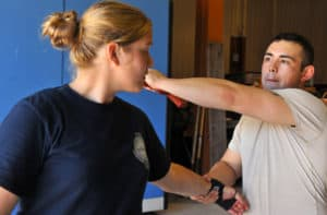 Krav Maga demonstration