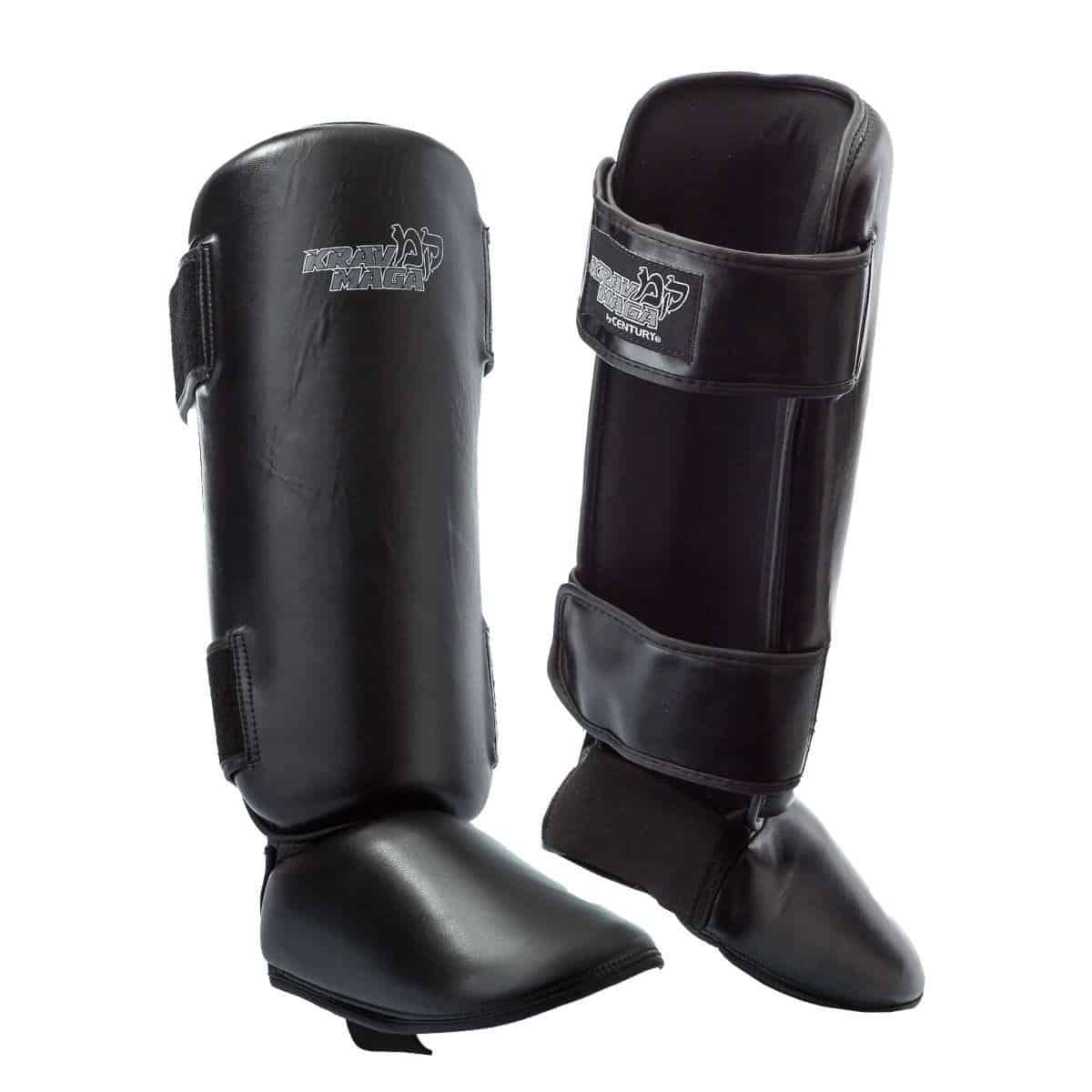 Krav maga padded shin guards