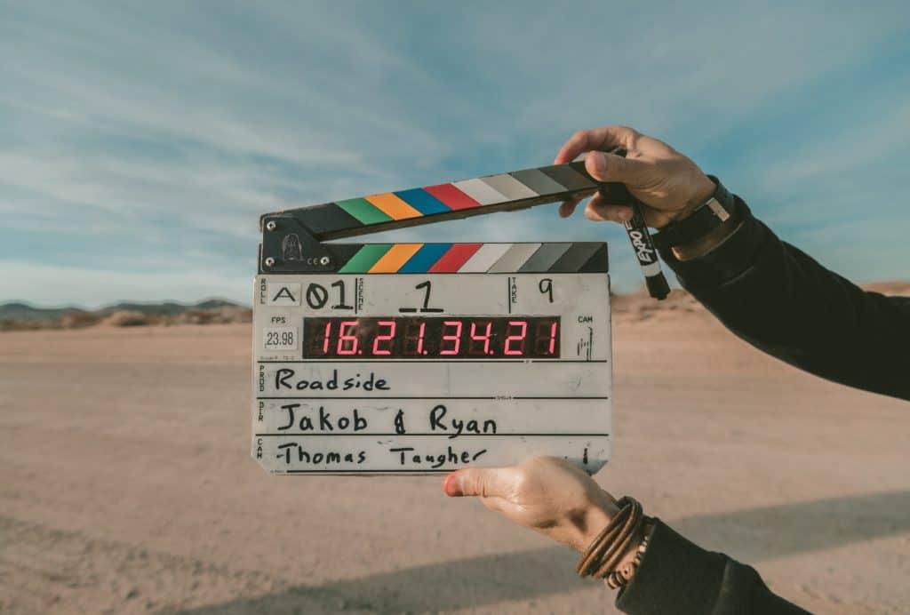 film clapboard Krav Maga