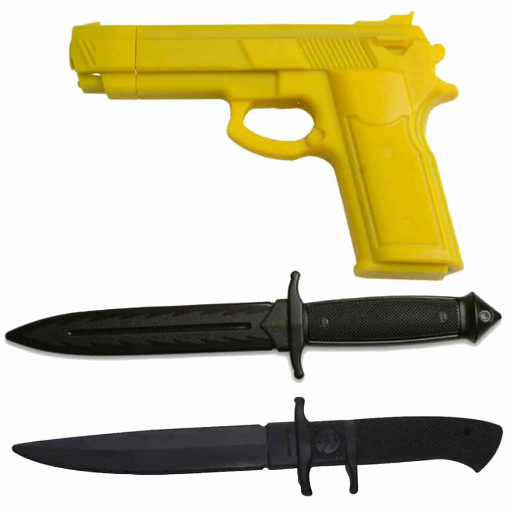 bladesusa knife and gun training set