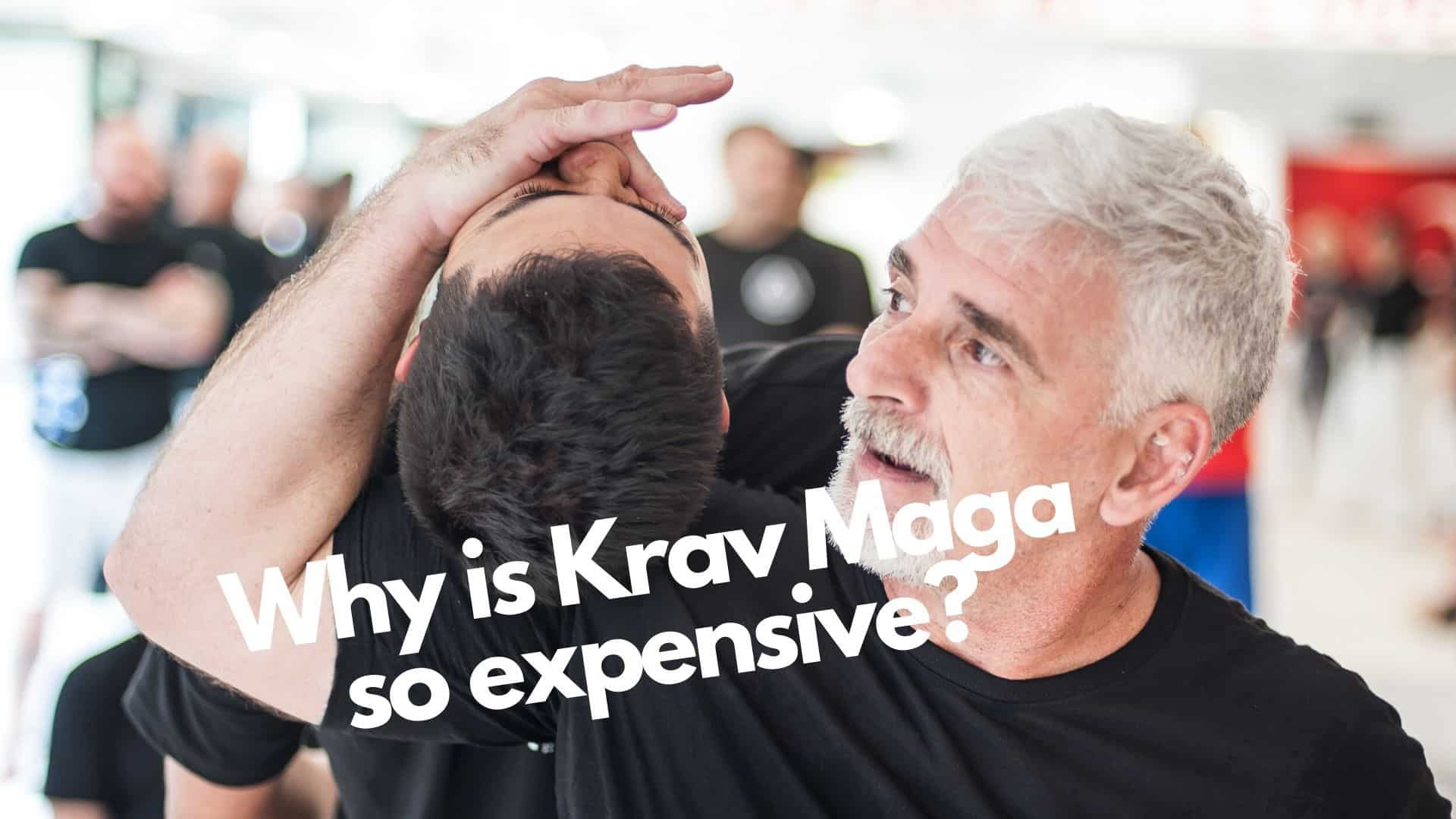Why is Krav Maga so expensive? More about courses & pricing